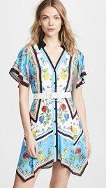 alice   olivia Conner Handkerchief Shirtdress at Shopbop