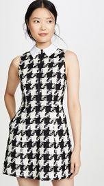 alice   olivia Ellis Gathered Zip Front Dress at Shopbop