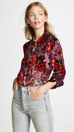 alice   olivia Eloise Blouse at Shopbop