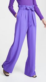 alice   olivia Farrel Paper Bag Pleated Pants at Shopbop