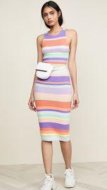 alice   olivia Jenner Striped Dress at Shopbop