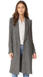 alice   olivia Kylie Long Shawl Collar Jacket at Shopbop