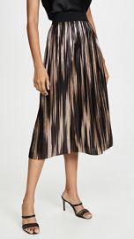 alice   olivia Mikaela Midlength Pleated Skirt at Shopbop