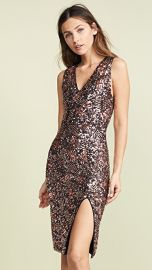alice   olivia Natalie Sequin Embroidered Dress at Shopbop