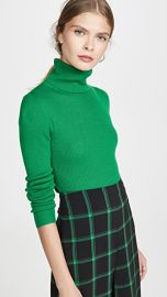 alice   olivia Roberta Long Sleeve Rib Turtleneck at Shopbop