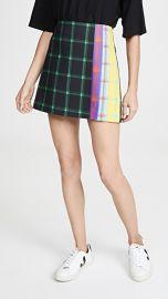 alice   olivia Semira Pleated Miniskirt at Shopbop