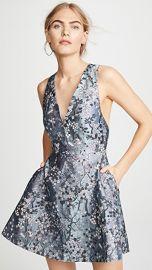 alice   olivia Tennie V Neck Party Dress at Shopbop