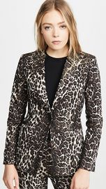 alice   olivia Toby Fitted Angled Front Blazer at Shopbop