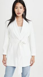 alice   olivia Wheaton Shawl Collar Wrap Blazer at Shopbop