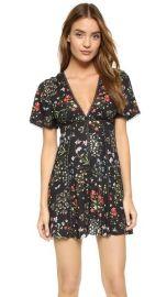 alice and olivia Amara Lace Insert Dress at Shopbop