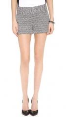 alice and olivia Cady Cuff Shorts at Shopbop
