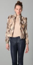 alice and olivia Faux Fur Jacket at Shopbop
