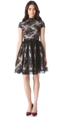 alice and olivia Jayna Open Back Dress at Shopbop