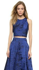alice and olivia Kesten Cropped Tank at Shopbop
