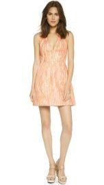 alice and olivia Pacey V Neck Lantern Dress at Shopbop
