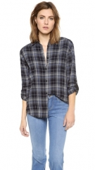 alice and olivia Piper Button Down Shirt at Shopbop
