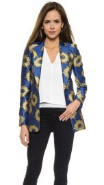 alice and olivia Sunnie Long Blazer at Shopbop