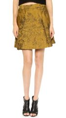 alice and olivia Vernon Miniskirt at Shopbop
