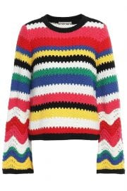 alice and olivia crochet top at The Outnet