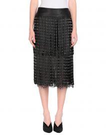 alice and olivia knee length skirt at Yoox