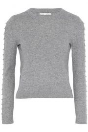 alice and olivia sparrow sweater at The Outnet