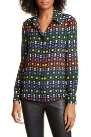 alice and olivia willa blouse at Nordstrom Rack