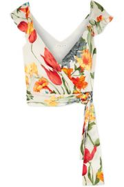 alice olivia nicole top at Net A Porter