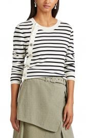 altuzarra Minamoto Striped Wool Cardigan at Barneys