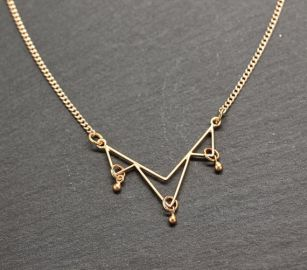 amyfinedesign minimal gold necklace at Etsy
