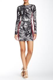 and039Mailynand039 Palm Print Body-Con Dress at Nordstrom Rack