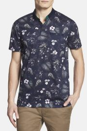 and039Normatand039 Floral Print Polo at Nordstrom Rack