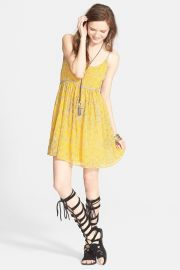 and039Periscopes in the Skyand039 Babydoll Dress at Nordstrom Rack