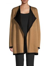 ann klein OPEN FRONT CARDIGAN at Lord & Taylor