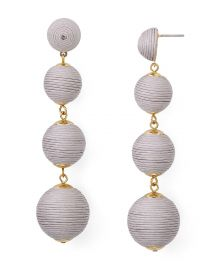 aqua Margot Ball Drop Earrings at Bloomingdales