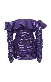 attico off shoulder dress at Moda Operandi