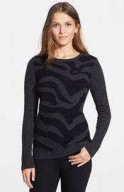 autumn cashmere Intarsia Cashmere Sweater at Nordstrom
