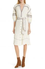 ba amp sh Patty Embroidered Dress   Nordstrom at Nordstrom