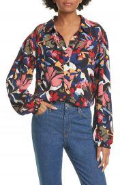 ba amp sh Celline Printed Shirt   Nordstrom at Nordstrom