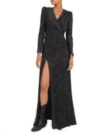 ba amp sh Charlie Burnout Velvet Maxi Dress Women - Bloomingdale s at Bloomingdales
