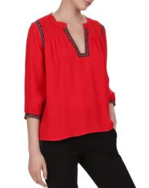 ba amp sh Cime Embroidered Top Women - Bloomingdale s at Bloomingdales