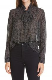 ba amp sh Liberty Bow Neck Blouse   Nordstrom at Nordstrom