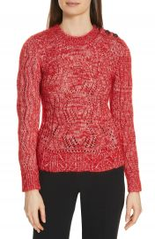 ba amp sh Numa Cotton  amp  Silk Blend Sweater at Nordstrom
