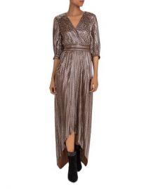 ba amp sh Pacey Metallic High Low Dress Women - Bloomingdale s at Bloomingdales