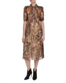 ba amp sh Rozy Animal-Print Shirt Dress Women - Bloomingdale s at Bloomingdales