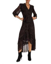 ba amp sh Selena Zebra-Stripe Wrap Dress  Women - Bloomingdale s at Bloomingdales