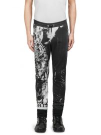 balmain Graphic-Print Cotton Pants at Saks Fifth Avenue