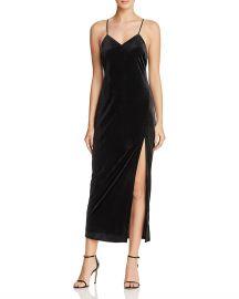 bardot Raven Velvet Slip Dress at Bloomingdales