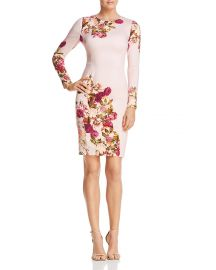 black halo Lively Floral Dress at Bloomingdales