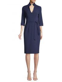 black halo Madeline Tie-Front Sheath Dress at Saks Fifth Avenue