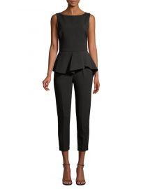 black halo kasia jumpsuit at Saks Fifth Avenue